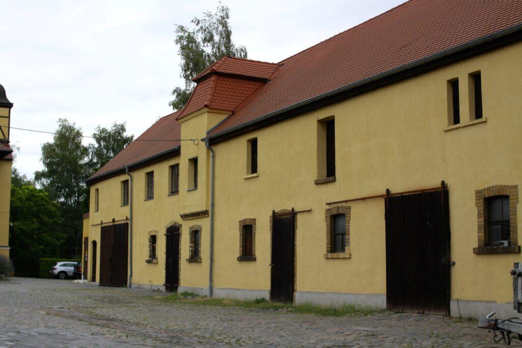 Nebengebäude des alten Ratsgutes Sommerfeld - heutiges Gut Engelsdorf