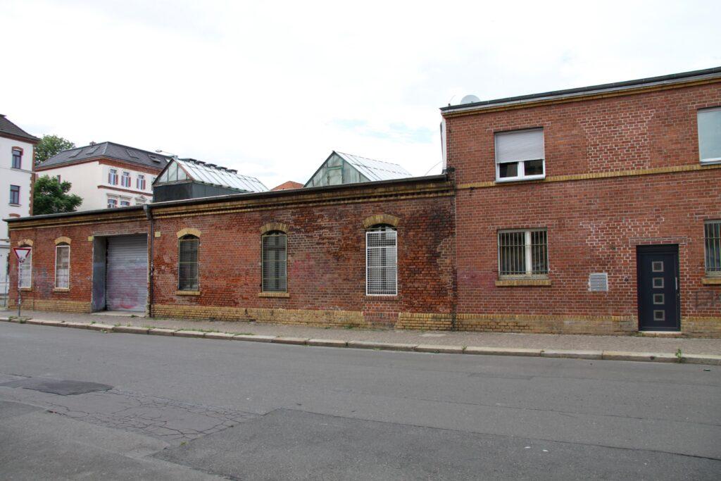 auch das Gelände in der Markranstädter Straße gehörte zur damaligen Eisengroßhandlung C. F. Weithas