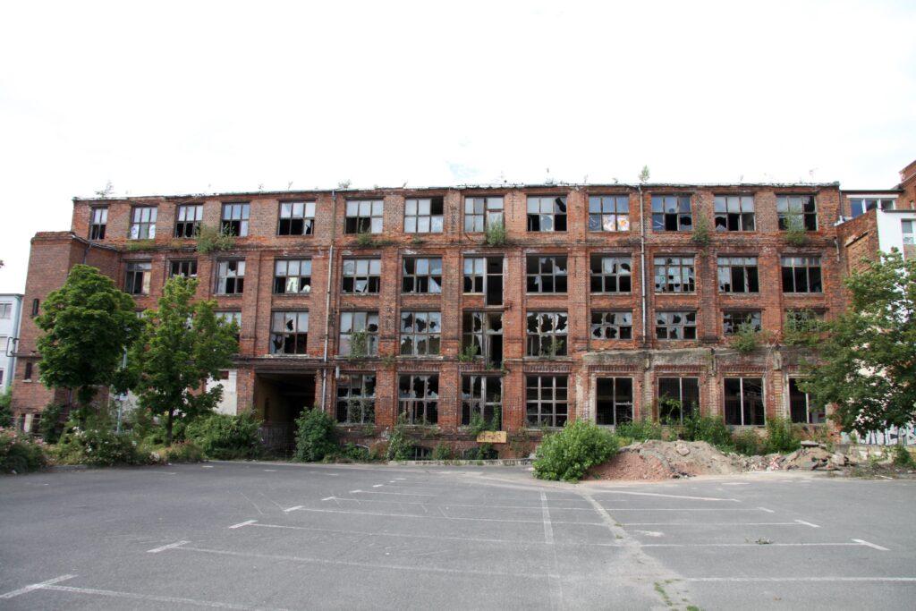 die alte Fabrik von Hermann Törpsch in Plagwitz, welche von 1901 bis 1902 errichtet wurde