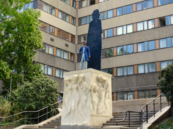 Richard-Wagner-Denkmal in den Grünanlagen am Goerdelerring
