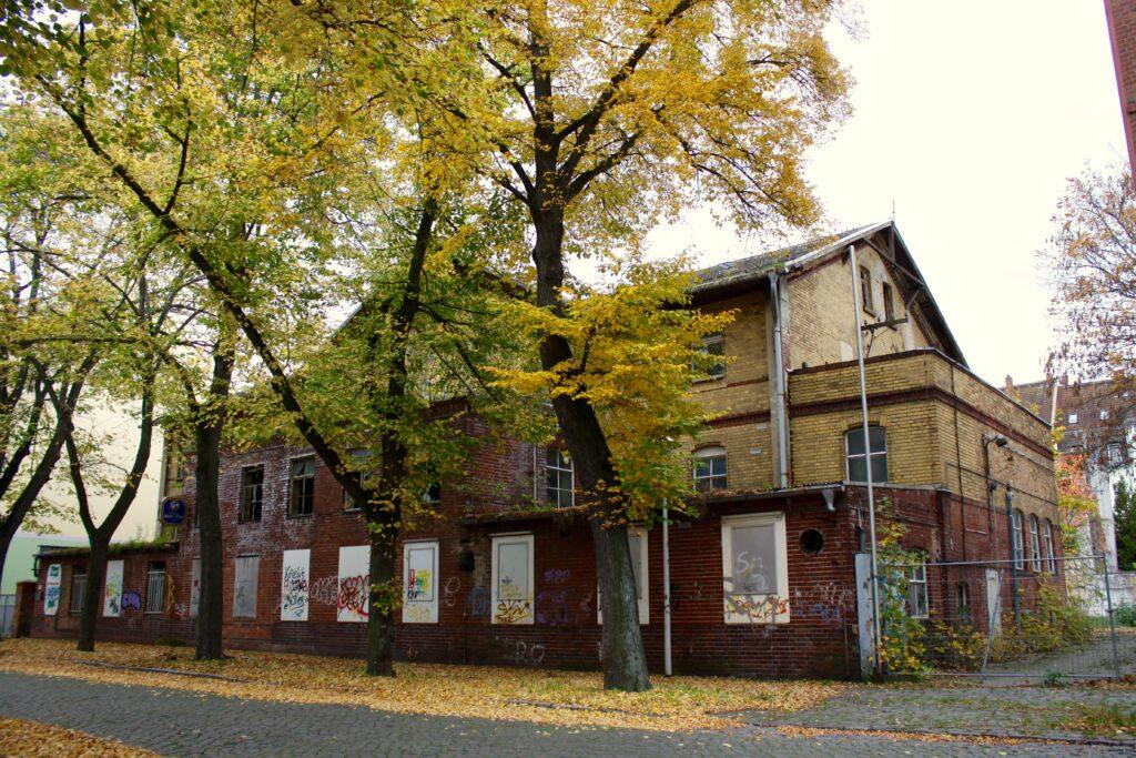 ehemalige Molkerei Eilenburg in der Schreckerstrasse 5