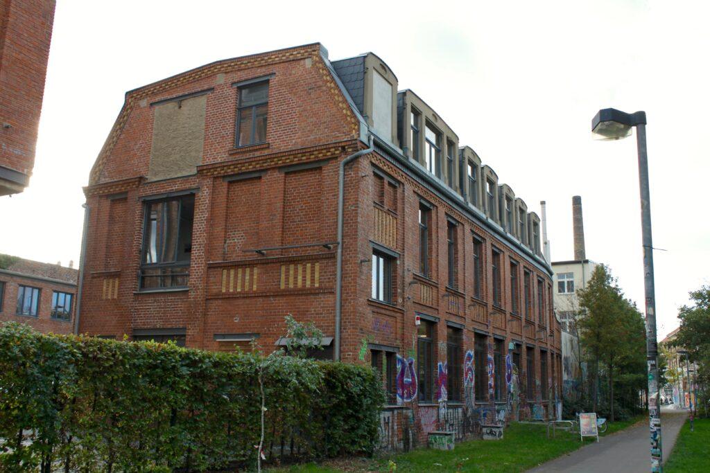 ehemalige Industriebautren in Plagwitz - damals errichtet durch die Metallgießerei und Armaturenfabrik Stoll & Elschner