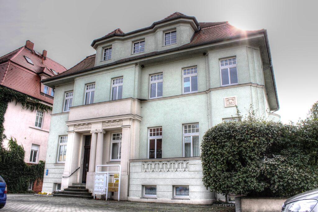 """das sogenannte """"Bürgermeisterhaus"""" wurde im Jahr 1917 errichtet"""