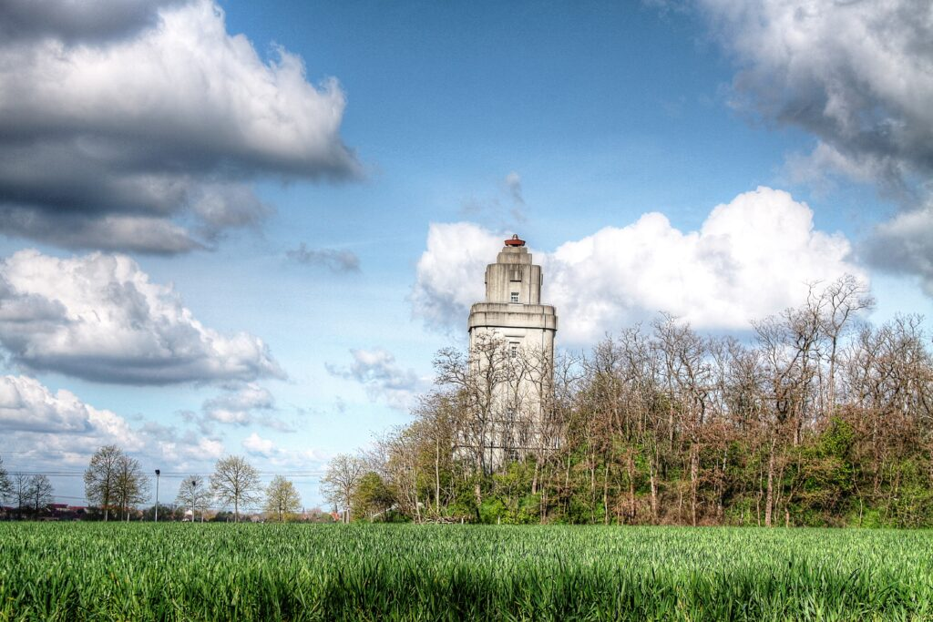 Erinnerung an den damaligen Reichskanzler Otto von Bismarck - einer von 230 Türmen in Deutschland