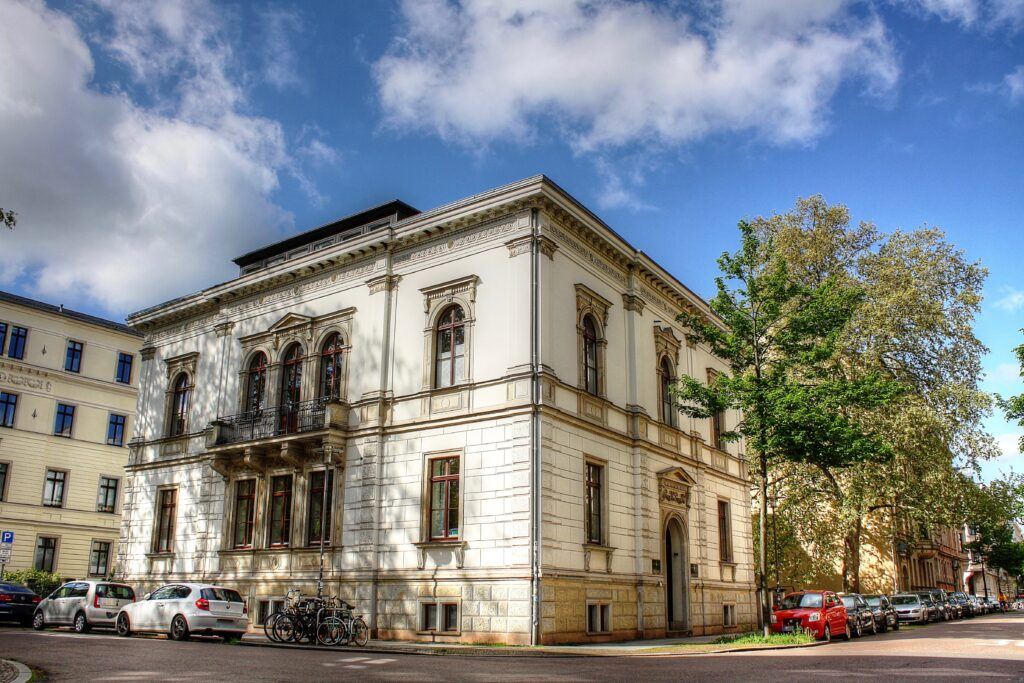 Villa Carl Linnemann wurde um 1859 errichtet