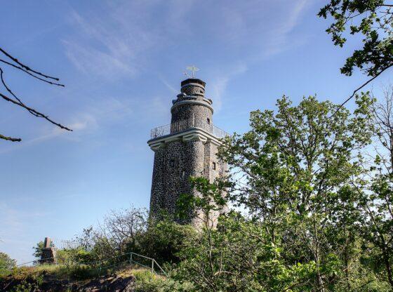 Bismarckturm auf dem Wurzener Wachtelberg in Dehnitz