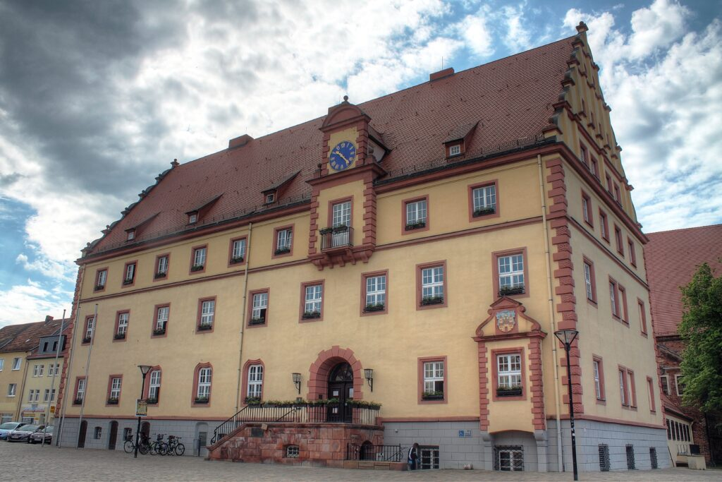 Rathaus Eilenburg am Marktplatz 1