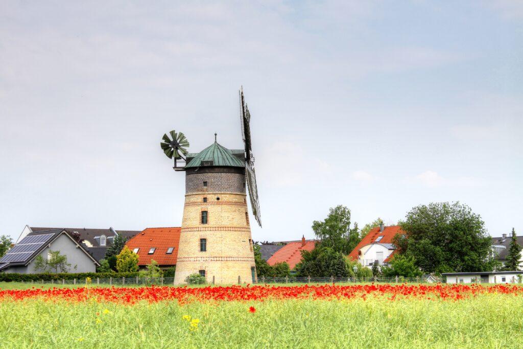 Turmholländerwindmühle in Lindenthal