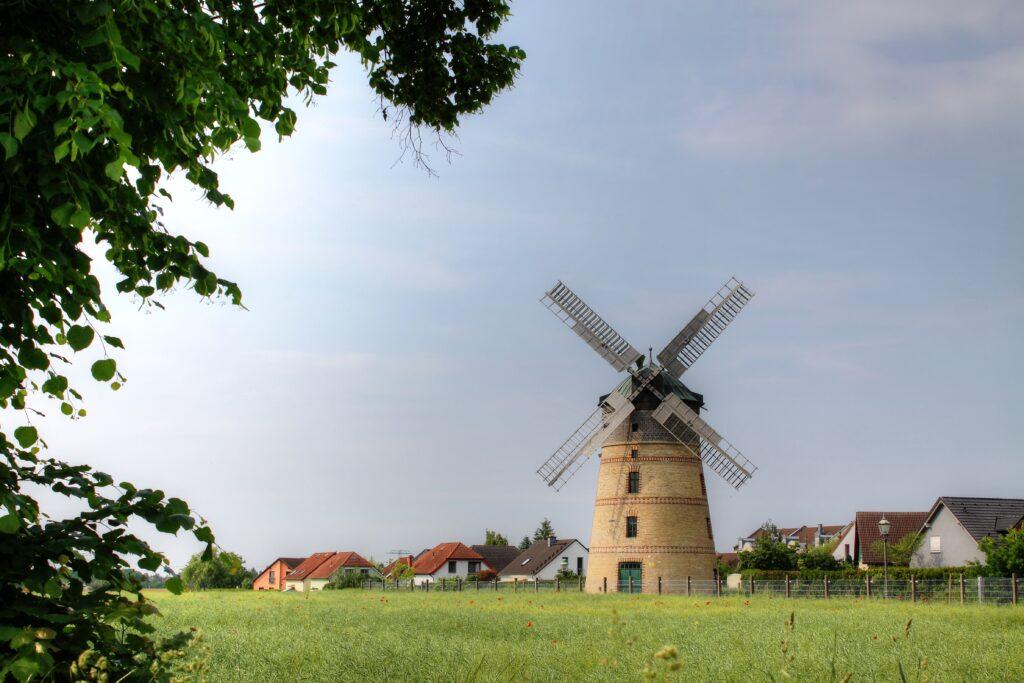 Windmühle im Ortsteil Lindenthal