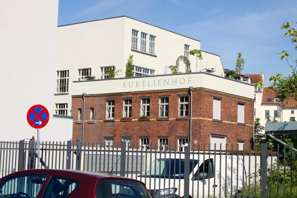 ehem. Maschinenfabrik Kohlbach & Co. - neuer Wohnraum in der Aurelienstraße 70