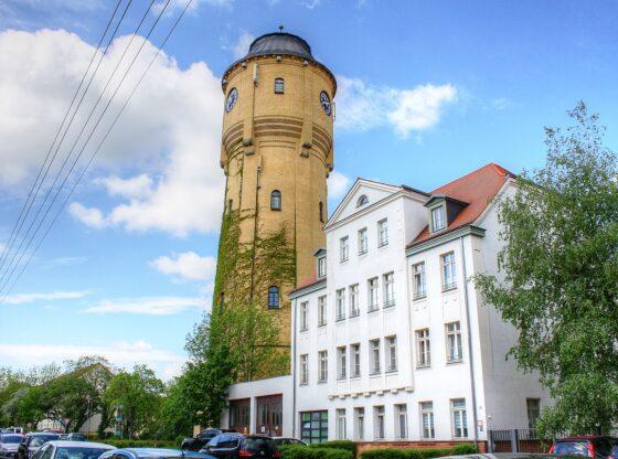 Wasserturm in Böhlitz-Ehrenberg