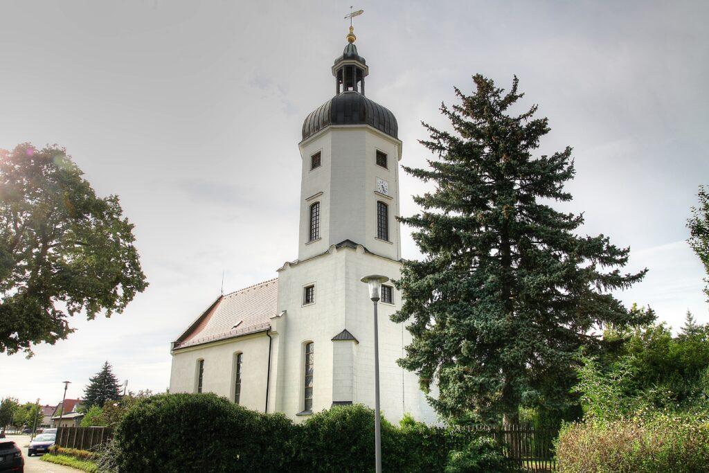 Chorturmkirche im Stadtteil Rehbach