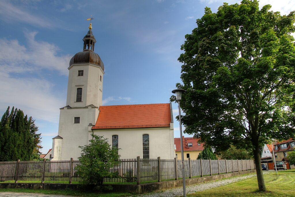 Kirche am Anger im Ortsteil Rehbach aus dem 14.ten Jahrhundert