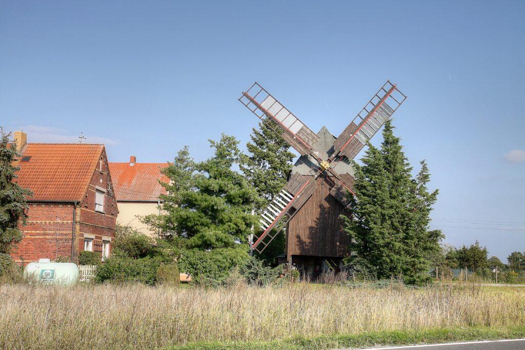 "Bockwindmühle ""Wolkwitz"" in Niederglaucha"
