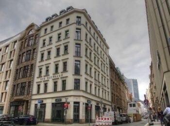"""Gebäude """"Zur Heuwaage"""" in der Ritterstraße"""