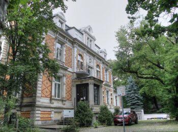 ehemalige Villa des homöopathischen Apothekers Willmar Schwabe an der Kohlgartenstraße