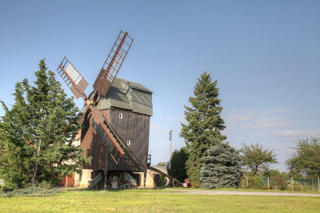 historische Windmühle im Zscheppliner Ortsteil Glaucha
