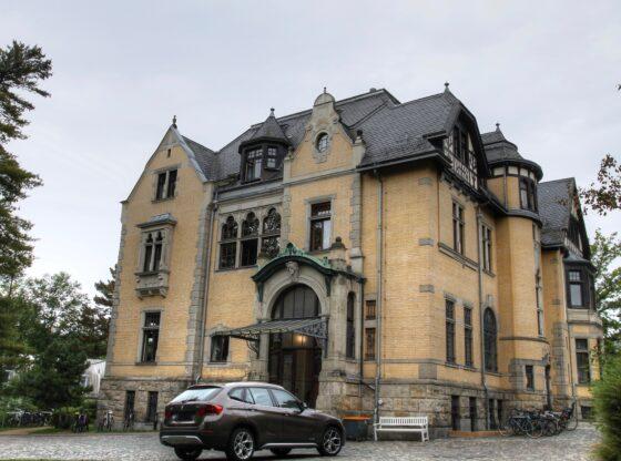 ehemalige Villa Schomburgk im Stadtteil Connewitz